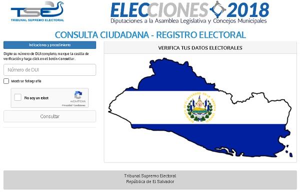 Dónde me toca votar 2018