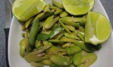 Semillas de paterna con limón
