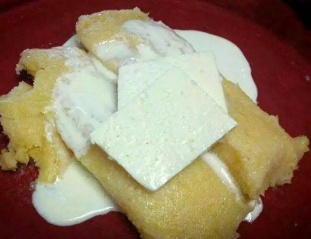 Tamalitos de elote con crema
