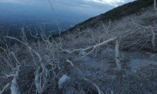 Erupción del volcán Chaparrastique de San Miguel