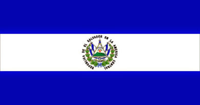 bandera del salvador