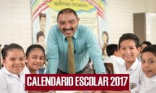 Calendario escolar 2017 El Salvador