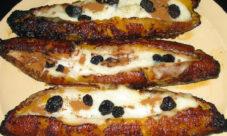 Canoas de plátano (Receta)