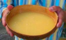Chicha, piñuela y agua dulce salvadoreña