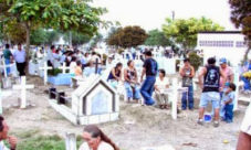 El día de los difuntos en El Salvador