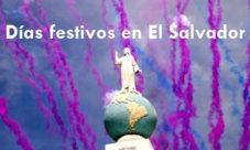 Días festivos en El Salvador 2016