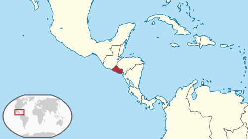 Dnde queda El Salvador  El Salvador mi pas