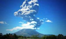 10 Imágenes impresionantes de la erupción del volcán Chaparrastique