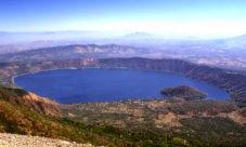 La belleza del Lago de Coatepeque