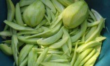 Mango verde picado