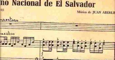 ¿Cuándo fue creado el himno nacional de El Salvador?