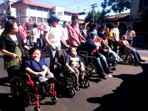 Derechos de los discapacitados en El Salvador