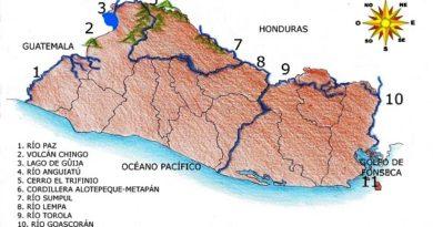Fronteras naturales de El Salvador