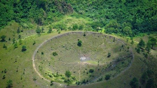 ¿Cuáles son las zonas volcánicas de El Salvador?