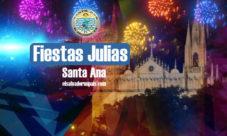 Fiestas Julias de Santa Ana 2017