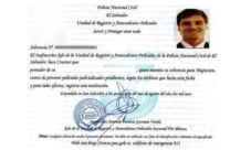 Cómo y dónde sacar la solvencia de la PNC en El Salvador