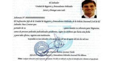 Solvencia de la PNC en El Salvador