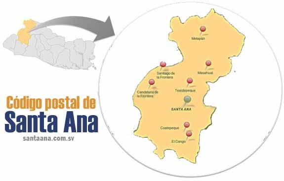 Cuál es el código postal de Santa Ana (El Salvador)