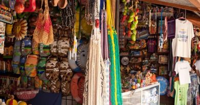 Mercado de artesanías de Santa Ana