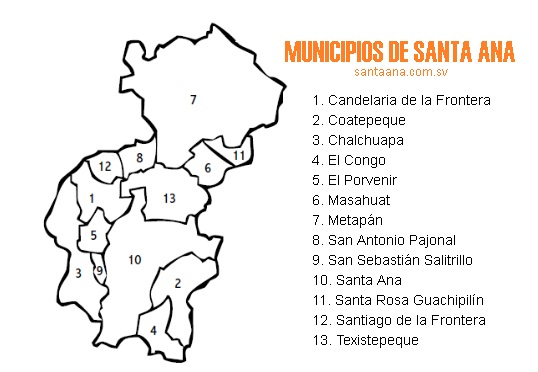 Municipios de Santa Ana (El Salvador)