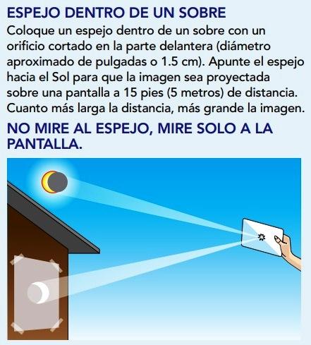 Ver eclipse en El Salvador de forma segura