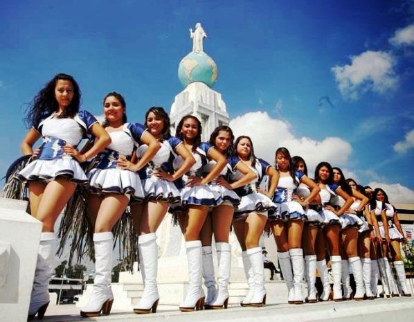 Las cachiporras de El Salvador