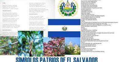 Símbolos patrios de El Salvador y su significado