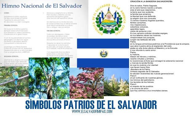 Símbolos Patrios De El Salvador Y Su Significado Lista Completa