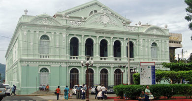 Historia del Teatro Nacional de Santa Ana