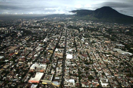 Densidad de Población de El Salvador