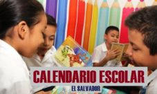 Calendario escolar 2019 El Salvador