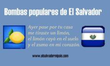 Bombas populares de El Salvador
