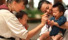 Lugares donde se puede adoptar niños en El Salvador