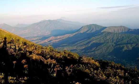 Cordillera Tecapa Chinameca