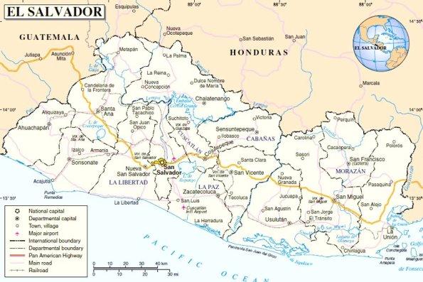 Organización territorial de El Salvador