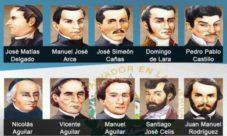 """¿Quiénes son los """"padres de la patria"""" en El Salvador?"""
