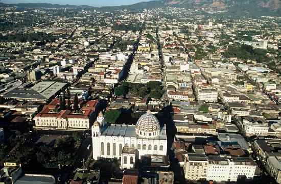 Principales ciudades de El Salvador