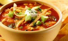 Sopa de tortillas (receta)