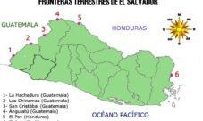 Fronteras terrestres en El Salvador