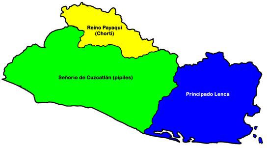 Los pipiles en El Salvador