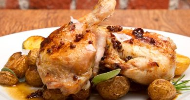 Pollo encervezado (receta)