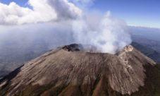 Volcanes activos en El Salvador