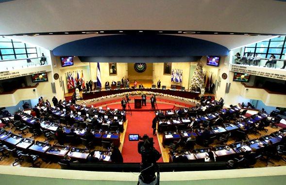 Funciones del órgano legislativo de El Salvador