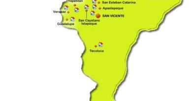 Mapa de San Vicente