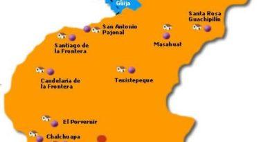 Mapa de Santa Ana