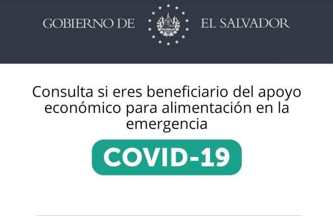 Consultar y cobrar subsidio de $300 en El Salvador