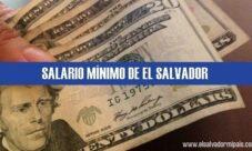 Salario mínimo 2021 en El Salvador